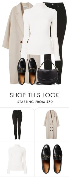 """""""Untitled #3207"""" by elenaday on Polyvore featuring Topshop, See by Chloé, Gucci and Mulberry"""