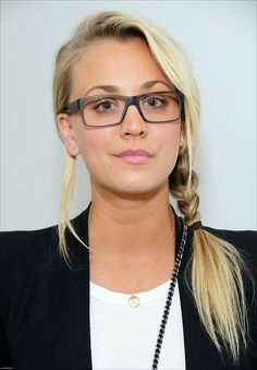 Maybe, were Kaley cuoco glasses