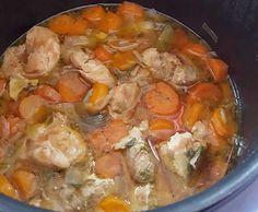 Sauté porc oignons carottes poireaux au cookeo. Je vous propose une délicieuse recette de Sauté porc oignons carottes poireaux, facile et rapide à réaliser au cookeo.