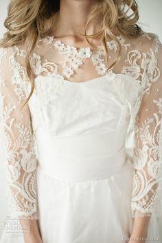 http://weddinginspirasi.com/2012/02/14/chaviano-couture-2012-wedding-dresses/  chaviano couture 2012 wedding dresses - Chloe bodice with Leigh jacket  #weddings #lace #weddingdress #weddingjacket #bridal