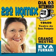 28º Troféu HQMIX - Grande Mestre dos Quadrinhos: Eva Furnari.