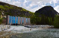 En images: la centrale hydraulique du Helgeland (Norvège)