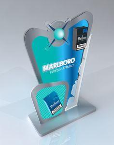 Displays Marlboro on Behance