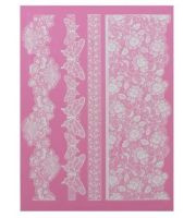 Claire Bowman 3D Cake Lace Mat - MADAME BUTTERFLY