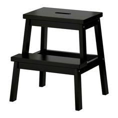 next ikea trip - a couple of these. BEKVÄM Step stool IKEA Solid wood, a hardwearing natural material. Hand-hole in the top step makes the step stool easy to move. Bekvam Ikea, Bekvam Stool, Ikea Step Stool, Kitchen Step Stool, Step Stools, Diy Stool, Bar Kitchen, Ikea Kitchen, Kitchen Cabinets