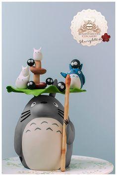 Boredpanda Totoro Cakes