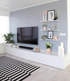 50 Affordable Apartment Living Room Design Ideas On A Budget Home Living Room, Apartment Living, Living Room Designs, Living Room Ideas, Contemporary Living Room Decor Ideas, Living Area, Living Room Tv Unit, Living Room Paint, Living Room Inspiration