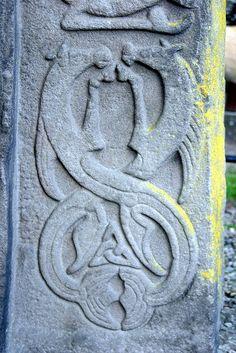 Aberlemno 11 Churchyard: Kelpie (Water Horses) http://en.wikipedia.org/wiki/Aberlemno_Sculptured_Stones
