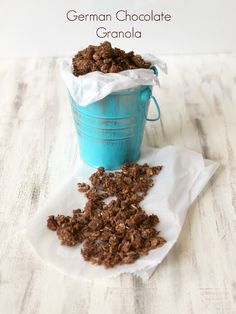 Clean Eating German Chocolate Granola