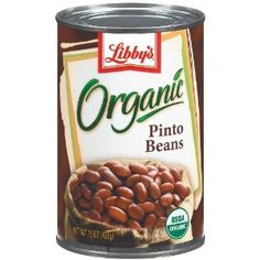 Libby's Organic Pinto Beans, 15-Ounces Cans (Pack of 12) (Grocery) # ...