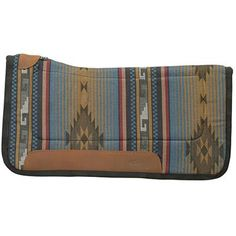 All Purpose Contoured Saddle Pad with Tacky-Tack Bottom, Blue - Weaver Leather Equine English Tack, English Saddle, Western Saddle Pads, Mold And Mildew, Saddles, Horse Tack, Contour, Wallet, Detail