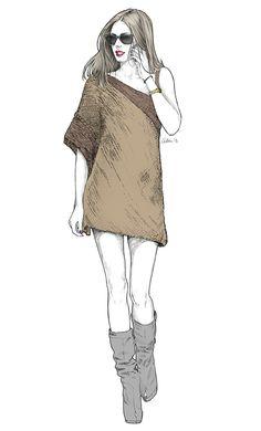 Fashion illustrations by alex tang Fashion Sketchbook, Fashion Design Drawings, Fashion Illustration Sketches, Fashion Sketches, Model Sketch, Summer Outfits For Teens, Fashion Figures, Millenial Fashion, Designs To Draw