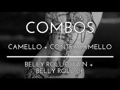 COMBO: CAMELLO. CONTRACAMELLO. BELLY ROLL DOWN. BELLY ROLL UP. DANZA DEL... Shall We Dance, Just Dance, Dance Websites, Danza Tribal, Belly Dance Lessons, Belly Roll, Tribal Fusion, Slide, Belly Dance Costumes