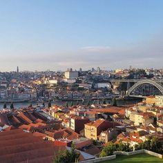 The view from the terrace at the Yeatman Hotel Porto Portugal.  #Porto #Douro #Portugal #VisitPortugal @visitportugal #Architecture #Cityscape #amoteportugal #igersportugal #ig_portugal #portugaldenorteasul #ok_portugal #igersporto #Ig_Porto #igopo #Oporto #Invicta #Yeatman #YeatmanHotel @theyeatman by anamanao