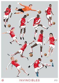 Invincibles Print by Dan Leydon