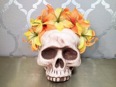 TIGER LILY Flower Crown by LaCasaDeFlores on Etsy