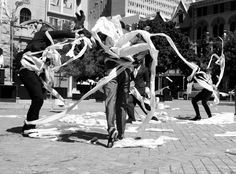 Zip Zap Circus School, Public Arts Festival, Infecting the city, Capetown SouthAfrica
