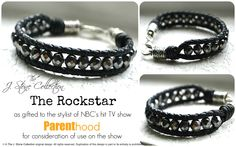 ©The J. Stone Collection's The Rockstar Bracelet. All rights reserved. $35.00