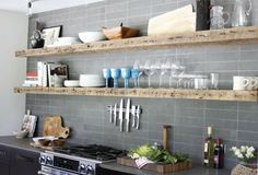 Top 10 Tips for Open Kitchen Shelves | ELEMENTS AT HOME