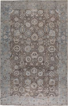 Antique Tabriz Carpet, No.20335 - Galerie Shabab