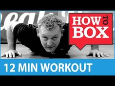 Boxing Workout - Fitness Training at Home (No Equipment) - YouTube