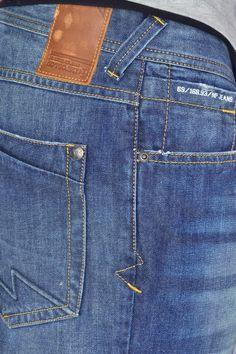 Blue Denim, Blue Jeans, Denim Jeans, Jeans Store, Leather Label, Pocket Detail, Trousers, Pants, Men Casual