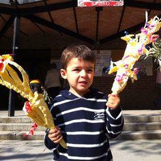 Celebrando con la familia  el Domingo de Ramos (Palm Sunday, Dimanche des Rameaux) como manda la tradición
