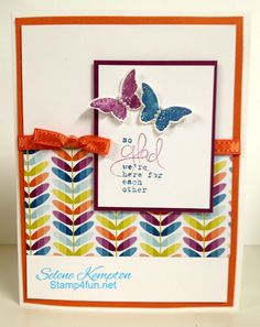Bloomin Marvelous Here for each other by StampingSelene - Cards and Paper Crafts at Splitcoaststampers