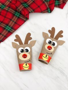 This toilet paper roll Rudolph the red nosed reindeer craft is a fun DIY for kids to make for Christmas! It's great for preschool, kindergarten and elementary children and comes with a free printable template. #simpleeverydaymom #reindeercrafts #preschool #preschoolcrafts #christmascrafts #craftsforkids #kidscrafts Reindeer Handprint, Reindeer Craft, Red Nosed Reindeer, Recycled Crafts Kids, Crafts For Boys, Diy For Kids, Christmas Activities For Kids, Christmas Fun, Preschool Christmas
