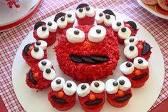 "Photo 1 of 31: Elmo / Birthday ""Twins 2nd Birthday"" | Catch My Party"