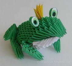 Gulnas' Kunstblog: 3D / Modulares Origami