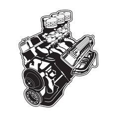 Cartoon Car Drawing, Car Drawings, Cartoon Art, Chevrolet Emblem, Flash Drawing, Car Tattoos, Drawing Machine, Truck Coloring Pages, Mechanical Art