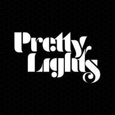 cool Pretty Lights Logo Vinyl Decal Sticker