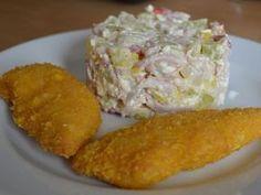 Cuketový salát - brydova.cz Czech Recipes, No Salt Recipes, Sugar Free, Ham, Zucchini, Salads, Paleo, Food And Drink, Low Carb