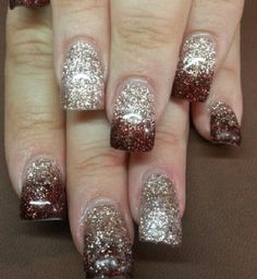 Acrylic nails by Kristal