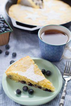 Recipe: Blueberry-Lemon Skillet Cake — Recipes from The Kitchn