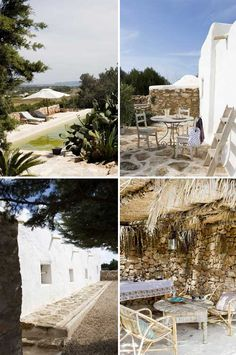 a rustic summer home in formentera