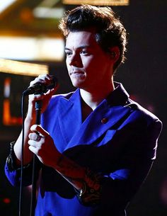 Harry performing on X Factor UK
