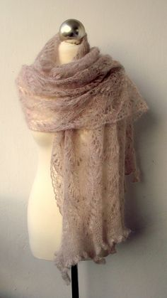 Tea Time Kidsilk Lace Stole - OMG. I so, so, so want one of these...