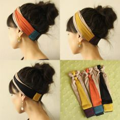 Best 12 Stretchy Jersey Ring Knot Turban headband pick one your by Mercato – Page 553802085428544579 Baby Turban Headband, Jersey Headband, Twist Headband, Boho Headband, Headband Styles, Headbands For Short Hair, Stretchy Headbands, Headbands For Women, Braided Headbands
