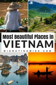 21 of the Most Beautiful Places in Vietnam - Want to know what should be on your Vietnam Bucket List? These places! #vietnam #bucketlist #southeastasia #travel #vietnamtravel