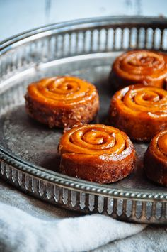 Cinnamon Orange Sticky Buns