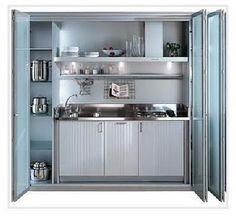 cozinha americana para espaços muito pequenos - Pesquisa Google