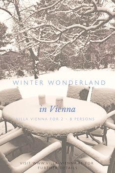 White christmas in Vienna . Winter in Wien versprüht besonderen Flair.