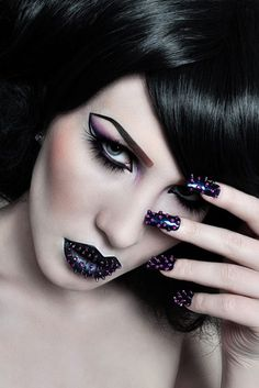 Lips and nails!! Alex Keen Photography
