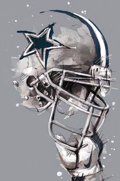 (notitle) More from my site Top 50 Dallas Cowboys of All Time NFL Dallas Cowboys 1 Fan Happy Birthday Football Shaped Foil … Dallas Cowboys Pictures, Dallas Cowboys Baby, Cowboys 4, Cowboys Helmet, Dallas Cowboys Football Wallpapers, Dallas Cowboys Wallpaper Iphone, Dallas Cowboys Tattoo, Tom Brady, Cowboy Images
