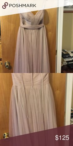 Blush bridesmaids dress Unaltered size 10 blush dress Dresses Strapless