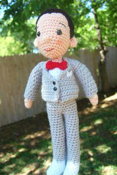 crochet pee wee herman!