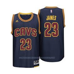 273f336d5 Camiseta Baloncesto Cleveland Cavaliers James 23 Azul 2014 Deron Williams