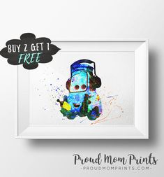 Cars Birthday Party, Cars Wall Art, Cars Art, Cars, Guido
